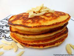 Yummy Inspirations: Grain Free Fluffy Almond Pancakes