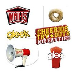 How can you not be a GLEEK? Status Update CharmsTM  Gleek Pack. This Pack includes 6 Charms featuring a Cheerio, No Fatties, Cheerios Letters, Red Slushie, Megaphone and Gleek .