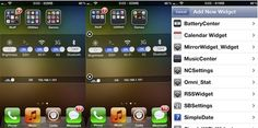 Dashboard X ya disponible en Cydia para traer Widgets a tu dispositivo