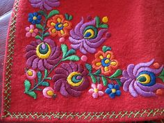 Hungarian Embroidery, Embroidery Art, Embroidery Patterns, Paper Quilling, Felt Crafts, Sewing Crafts, Needlework, Cross Stitch, Arts And Crafts