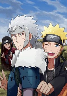 I may not be a big fan of naruto anymore but this my fav fan art now tobirama, naruto , & Hashirama my favorite characters