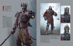 Eredin Concept - Witcher 3 by PlanK-69