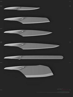 HERMAN DELOS SANTOS – Cutlery knives #design #industrialdesign #productdesign #knives