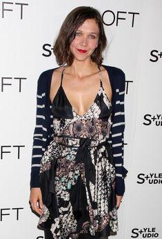Maggie Gyllenhaal Medium Wavy Cut