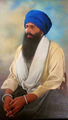 At one time, Punjab was considered the most fertile land for recruitment in the British-Indian Army. It is a strange coincidence that the person who was considered the father of Sikh extremism in the his parents named him Jarnail Singh. Sikh Quotes, Gurbani Quotes, Woman Quotes, Punjabi Quotes, Bhagat Singh Wallpapers, Baba Deep Singh Ji, Guru Tegh Bahadur, Guru Nanak Wallpaper, Guru Nanak Ji