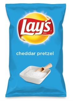 Wouldn't cheddar pretzel be yummy as a chip? Lay's Do Us A Flavor is back, and the search is on for the yummiest flavor idea. Create a flavor, choose a chip and you could win $1 million! https://www.dousaflavor.com See Rules.