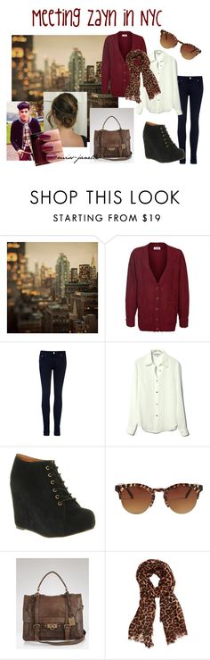 """Meeting Zayn in NYC"" by miss-janelle ❤ liked on Polyvore featuring V London, Ted Baker, Jeffrey Campbell, American Apparel, Frye, Oasis, Illamasqua, zayn malik, one direction and 1d"