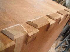 Custom Made Dovetailed Cherry Box