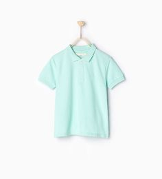 Image 1 of Piqué polo shirt from Zara