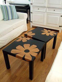 画像8 : IKEAの人気商品、lack tableを使ってDIYしよう♡「9」選 │ macaroni[マカロニ]