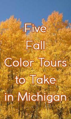 Michigan Fall Color Tours