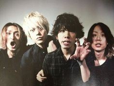 Ok, I'm like IN LOVE with everyone from ONE OK ROCK (Toru and Taka take the cake though. Especially Taka <3) But I loves them all! They are my cuties! XD