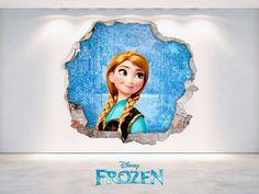 ¡ FROZEN LLEGA A NUESTRA WEB ! Dale un toque de fantasía a la decoración de tus paredes con nuestra colección de vinilos 3D de Disney ! www.viniloscasa.com