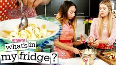 SNICKERS SALAD!?! What's In My Fridge? - with MeghanRosette