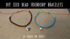 DIY Seed Bead Wax String Friendship Bracelets | Tutorial Inspired by Pura Vida…