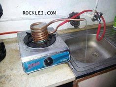 Indian Jugaad for Running Hot Water