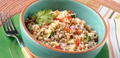 Couscous under 100 calories per serving must try but make my own italian dressing for it