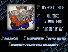 454 ho big block crate engine chevrolet bigblock chevy muscle an 815 horsepower engine that runs on pump gas and comes with a warranty seems just malvernweather Image collections