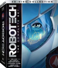 Robotech: The Complete Set (1985) DVDR NTSC  (125 GB) Audio: Español Latino, Inglés