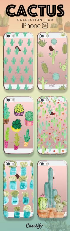 """Prickly on the outside, Soothing on the inside. Take a look at our cactus collection for the new iPhone SE now! <a href=""""https://www.casetify.com/search?keyword=cactus"""" rel=""""nofollow"""" target=""""_blank"""">www.casetify.com/...</a>   Casetify"""
