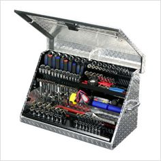 30-Inch Aluminum Portable Toolbox (Aluminum)