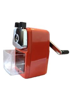 Reviewed as the best pencil sharpener!  Doesn't need to be mounted and it's kid friendly.    Watch the video.