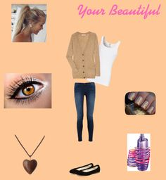 """""""Your Beautiful"""" by geraldinesantos92 on Polyvore"""