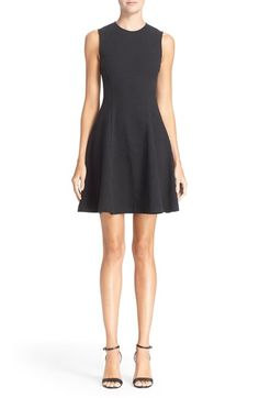 THEORY 'Tespa' Textured Knit Fit And Flare Dress. #theory #cloth #