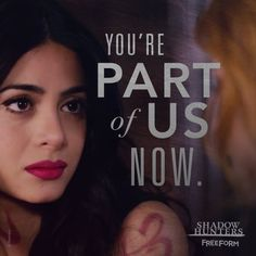 Shadowhunters, TV Show on Free Form Shadowhunters Series, Shadowhunters The Mortal Instruments, Shadowhunter Quotes, Simon Lewis, New Tv Series, Isabelle Lightwood, Ya Novels, Matthew Daddario, Clary Fray