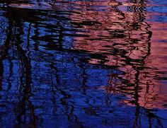 Violet Dreams, WATER abstract, by Barbara St. Jean, Saint Jean Art Gallery, #water #abstract