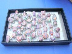 multi colors genuine gemstone rings - http://www.wholesalesarong.com/blog/multi-colors-genuine-gemstone-rings/