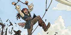 Pirati dei Caraibi - Questa estate uscirà una serie a fumetti - Sw Tweens