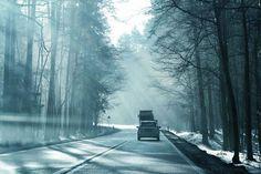 Droga z Olsztyna na Szczytno  Autor Marta Sotnik
