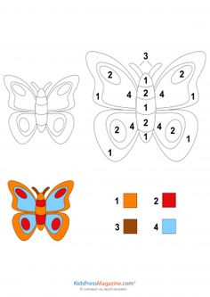 Description: Color by number projects make great gifts. They can also be used as templates for numerous activities. This color by number Animal Coloring Pages, Free Coloring Pages, Coloring Books, Colouring, Color By Numbers, Math Numbers, Preschool Color Activities, Color By Number Printable, Animal Intelligence