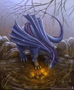 Dragons of the Wood Blue Dragon, Dragon Art, Dragon Images, Dragon Pictures, Fantasy Story, High Fantasy, Fantasy World, Fantasy Art, Dragons Den