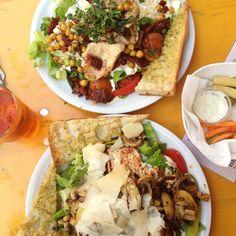Salate im Nage & Sauge München Lehel