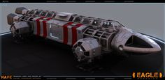 rafe-dominguez-03.jpg (1536×750); • picture info: Redesigned Eagle based on the iconic spaceship from Gerry Anderson's Space:1999 tv show.