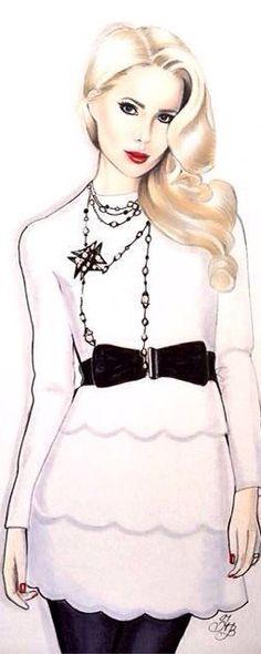 Fashion Illustration | House of Beccaria~