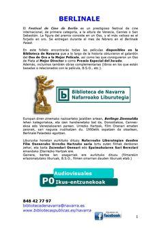 En este folleto encontrarás todas las películas disponibles en la Biblioteca de Navarra que a lo largo de la historia obtuvieron el galardón del Oso de Oro a la Mejor Película, así como las que consiguieron un Oso de Plata al Mejor Director o como Premio Especial del Jurado.