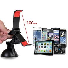 USD $ 10.99 - Premium 360 Degree Rotatable Universal Car Holder with Suction Cup for Mobile Phone, Free Shipping On All Gadgets!