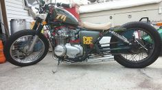 Bobber Inspiration | CB550 bobber by Don Clark | Bobbers and Custom Motorcycles