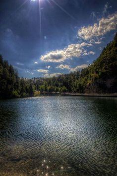 Lago smeraldo Fondo Trentino