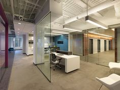Semi-Private Office Space, Open and Collaborative
