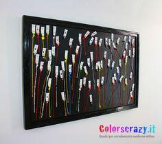 Quadro tributo ad Arman Fernandez - 120 x 80 cm. - Tubetti di colore - Acquista su www.colorscrazy.it