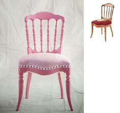 Algunas fotos de sillones pintados