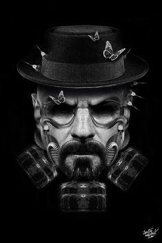 Breaking Bad Friends ......   Walter has gone Steampunk!!
