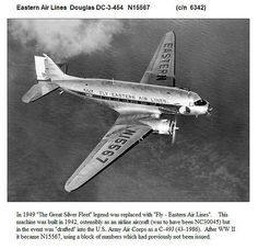Eastern Airlines Douglas DC-3-454