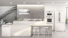 Vitreous by Brastemp Cooktops, Kitchen Pantry, Home Decor Inspiration, Interior Design, Architecture, Table, House, Furniture, Kitchens