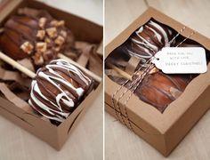 Image result for caramel apple packaging