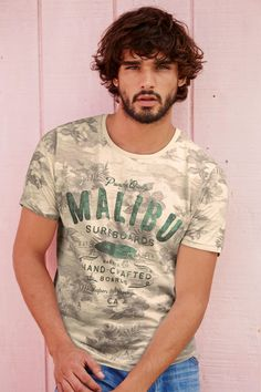 Buy Malibu All Over Print T-Shirt from the Next UK online shop